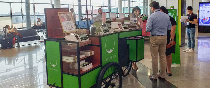 Cambodia Airports is designing shops-on-wheels that can be customized to meet sellers' needs