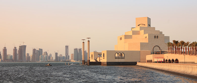 Visit the Museum of Islamic Art, built on an island off of the historic dhow harbor, for a taste of Qatar's rich culture © Paul Cowan - shutterstock