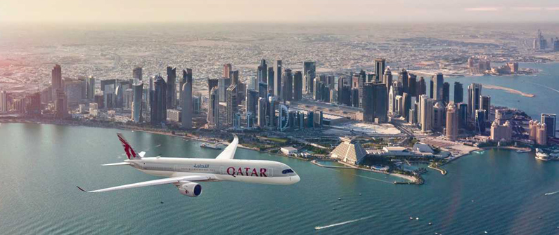 Qatar Airways has one of the youngest fleet of carriers in the world, with an average age of less than five years