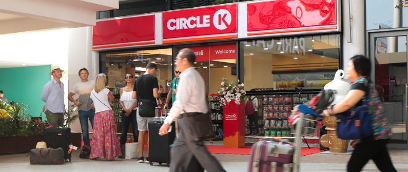 With the launch of the new Circle K, the Phnom Penh International Airport now offers more snacks, beverages, and other travel essentials to enhance each passenger's airport experience.