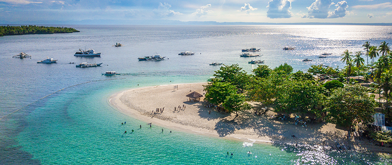 The Philippines is made up of more than 7,000 islands, each home to their own stunning beach views and uniquely biodiverse landscapes