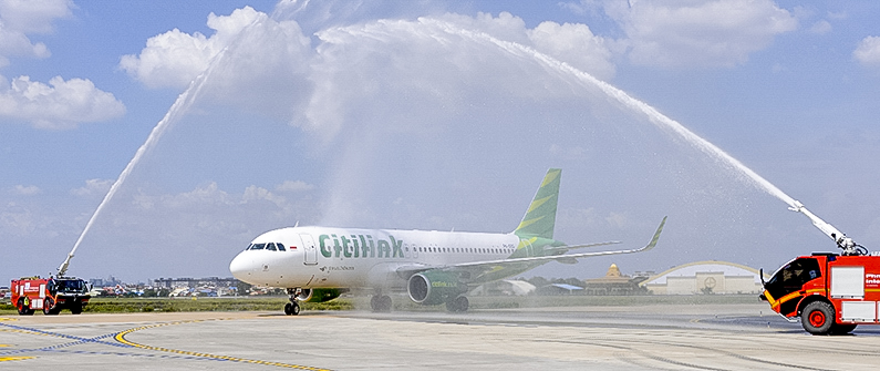 Citilink flights between Phnom Penh and Jakarta are now available three times weekly