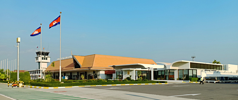 The Siem Reap domestic terminal was last renovated in 2008.