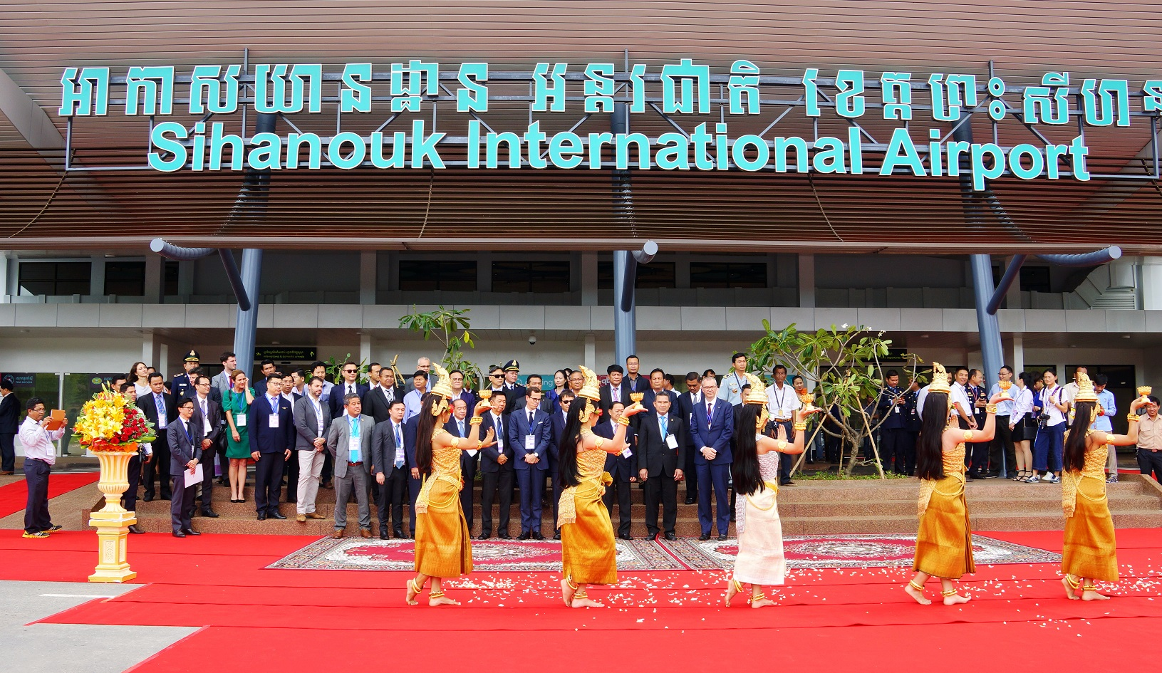 New terminal commissioned at Sihano