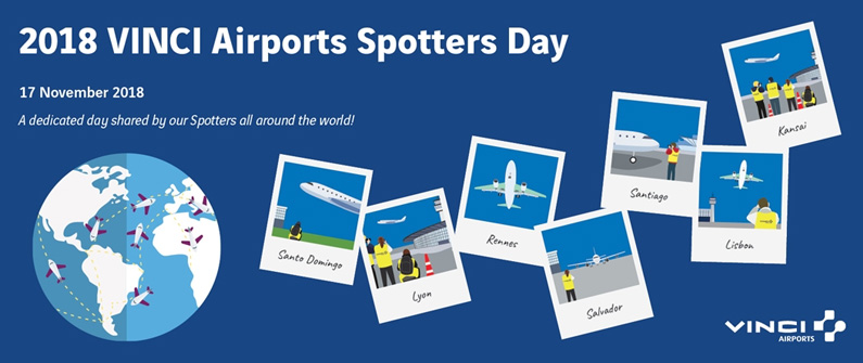 VINCI Airports Spotters Day 2018 was a success, and the annual event promises to be even more popular in coming years.