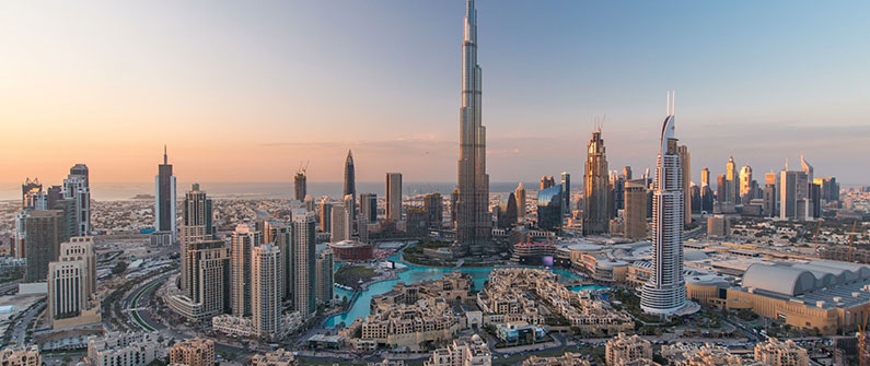 Dubai's iconic skyline is known for its astonishing architecture and glistening coast.